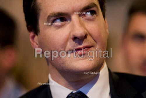 George Osborne MP. Conservative Party Conference 2009. Manchester. - Jess Hurd - 2009-10-05