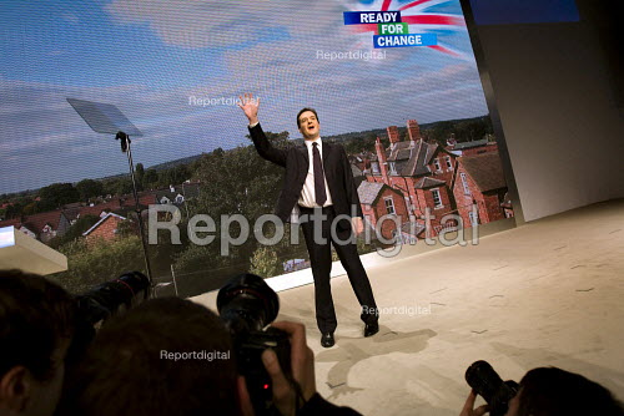 George Osborne MP. Conservative Party Conference 2009. Manchester. - Jess Hurd - 2009-10-06