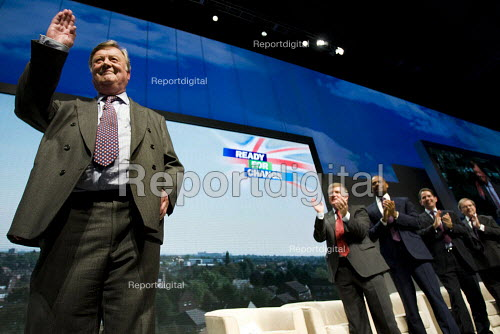 Kenneth Clarke MP. Conservative Party Conference 2009. Manchester. - Jess Hurd - 2009-10-06