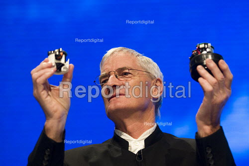 British inventor James Dyson, creator of the Dyson vacuum cleaner. Conservative Party Conference 2009. Manchester. - Jess Hurd - 2009-10-05