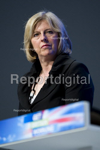 Theresa May MP. Conservative Party Conference 2009. Manchester. - Jess Hurd - 2009-10-05