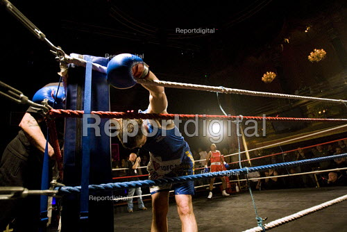 BWB Championship Boxing. Firefighters and emergency personnel raising money for charity through sport. Clapham Grand. London. - Jess Hurd - 2009-11-18