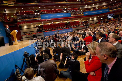 David Cameron speaking, Conservative Party Conference, The ICC Birmingham - Jess Hurd - 2014-10-01