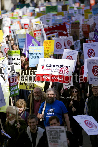 Lancashire County Council not for shale. Time to Act! Climate Change National Demonstration. London. - Jess Hurd - 2015-03-07