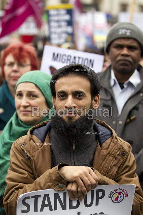 Stand up to racism & fascism, national demonstration. London. - Jess Hurd - 2015-03-21