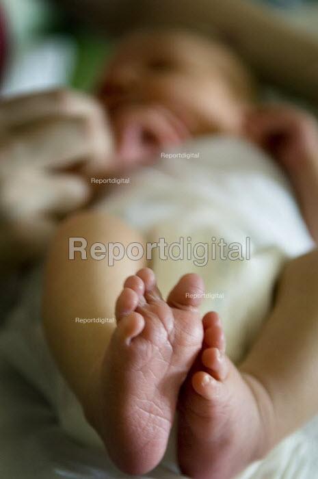Newborn baby's feet. - Paul Carter - 2005-05-02