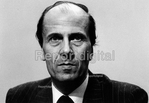 Norman Tebbit at the Conservative Conference, in 1981. - John Sturrock - 1981-10-12