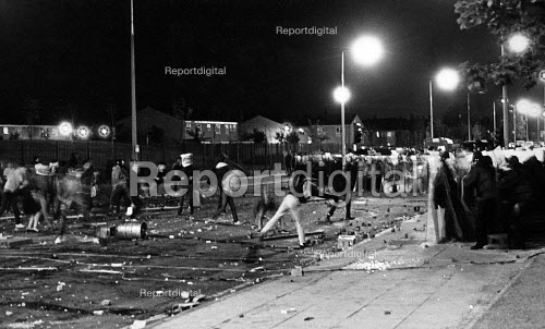 Toxteth Riot, in Liverpool 1981. - John Sturrock - 1981-07-06