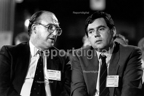 John Smith and Gordon Brown, Labour Party Conference 1988 - John Sturrock - 1988-09-10