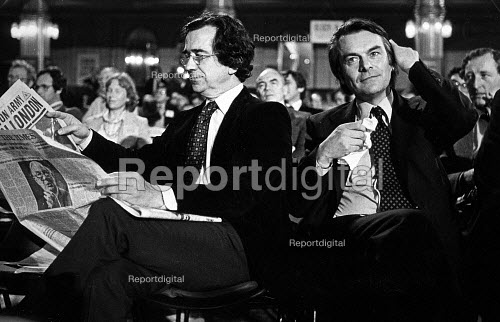 William Rogers and David Owen, Labour Party Conference, 1980 - John Sturrock - 1980-09-10