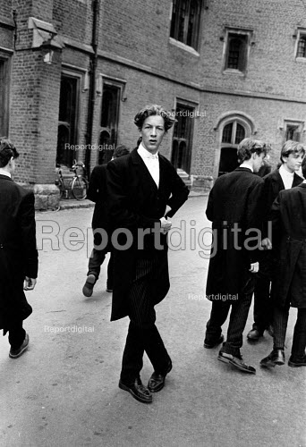 The traditional annual Fourth of June Celebrations at Eton College, in the year that the school celebrated its 500'th anniversersary. - John Sturrock - 1990-06-04