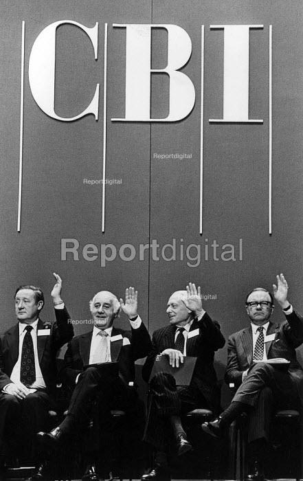 CBI conference. - John Sturrock - 1986-04-10