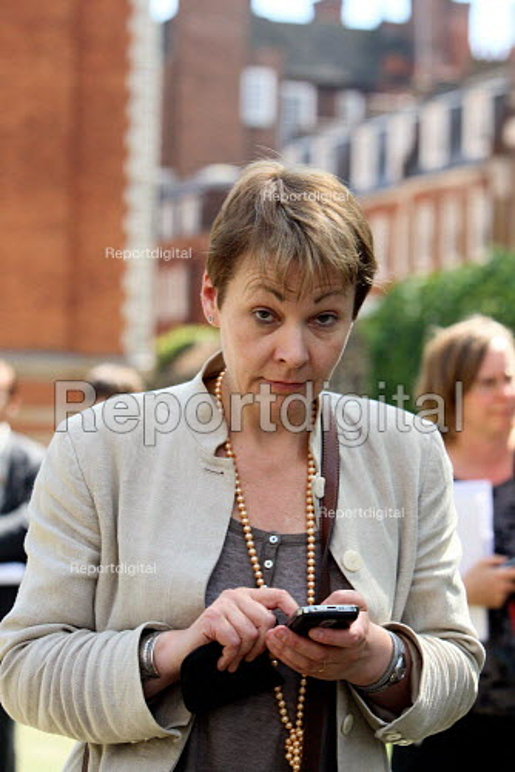Caroline Lucas MP. Westminster, London. - Justin Tallis - 2010-06-22