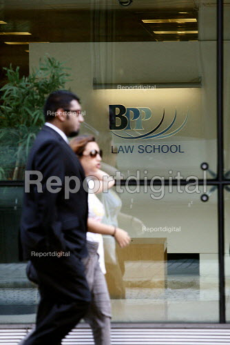 BPP Law school in Holborn is the first private sector company in the UK to become a university college as of July 2010. The BPP is 100 percent privately owned and receives no state funding. London. - Justin Tallis - 2010-08-16
