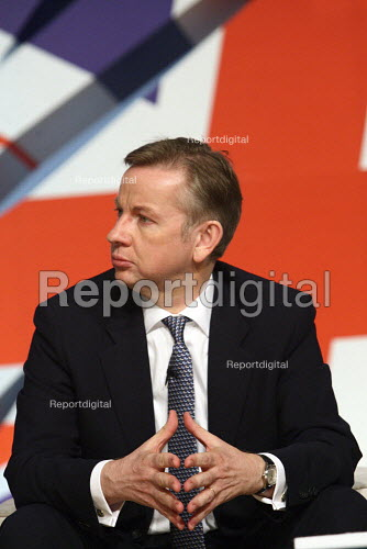 Michael Gove at the 2010 Conservative Party Conference, Birmingham. - Justin Tallis - 2010-10-05