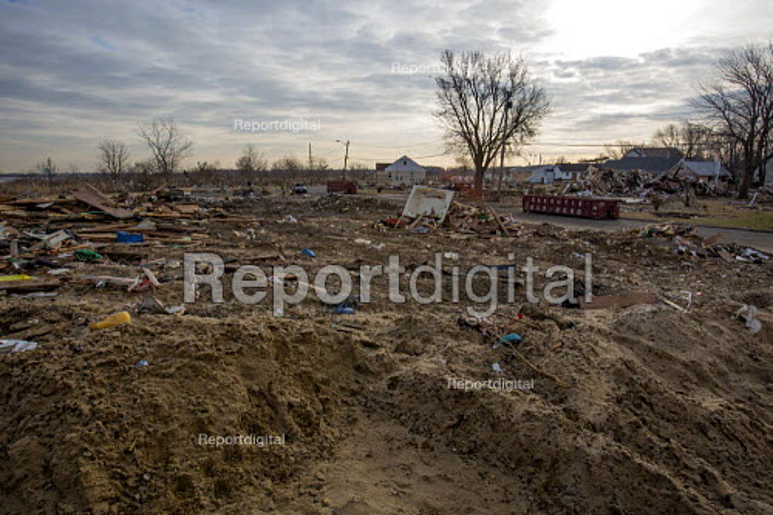 Union Beach, New Jersey - Debris from destruction of a seaside community by Hurricane Sandy. - Jim West - 2012-11-28