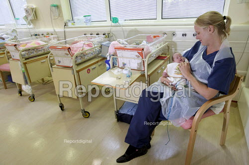 The Neonatal Intensive Care Unit at Southmead Hospital, Bristol. - Paul Box - 2006-07-21