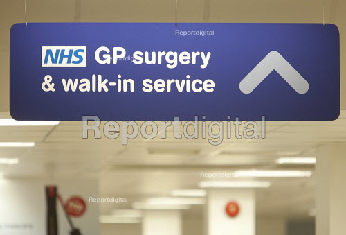 NHS GP surgery and walk-in service, at Boots Broadmead Medical Centre, in Bristol. - Paul Box - 2009-09-02