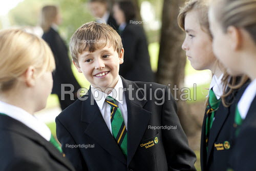 Pupils at Clevedon school, Clevedon - Paul Box - 2011-09-14