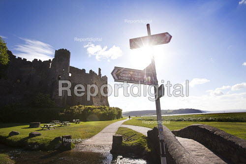 Laugharne Castle, Laugharne, Carmarthenshire, West Wales - Paul Box - 2012-06-09