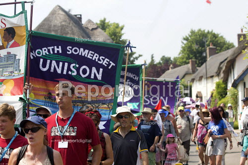 The Tolpuddle Martyrs Festival. Tolpuddle - Paul Box - 2013-07-21