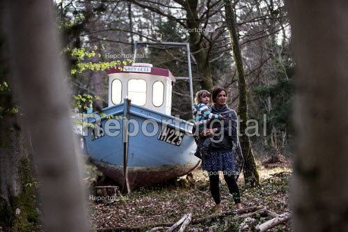 Withdrawn by Luke Jerram, Leigh Woods, Bristol. An art installation of fishing boats that hopes to provoke discussion about climate change, extreme weather, falling fish stocks and our impact on the marine environment. - Paul Box - 2015-04-16
