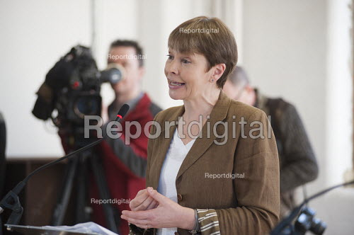 Caroline Lucas. Green Party general election manifesto launch, Dalston, London. - Philip Wolmuth - 2015-04-14