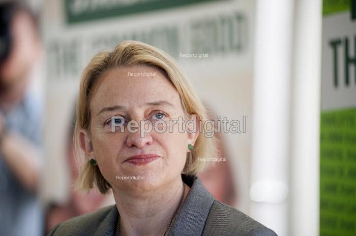 Natalie Bennett. Green Party general election manifesto launch, Dalston, London. - Philip Wolmuth - 2015-04-14