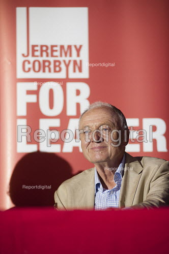 Ken Livingstone. 1500 people attend a rally in support of Jeremy Corbyn for Labour Party leader, Camden Centre, London. - Philip Wolmuth - 2015-08-03