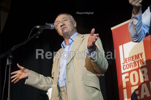 Ken Livingstone. Grassroots for Jeremy. 1500 people attend a rally in support of Jeremy Corbyn for Labour Leader. Camden Centre, London. - Philip Wolmuth - 2015-08-03