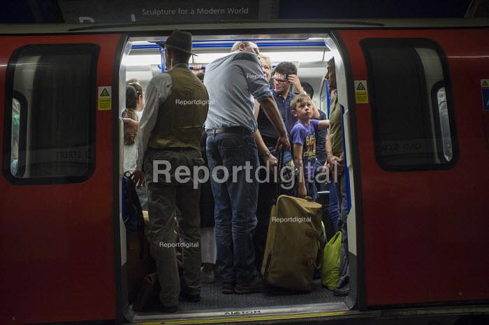 Crowded London underground train - Philip Wolmuth - 2015-08-14