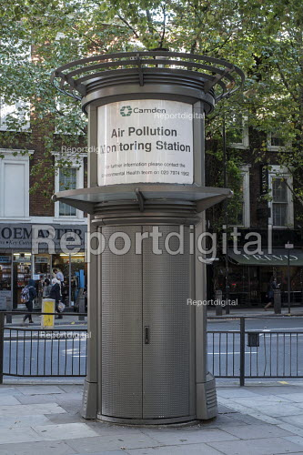 Camden Council Air Pollution Monitoring Station, Holborn London - Philip Wolmuth - 2015-08-27