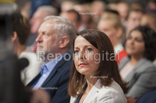 Liz Kendal at Labour Party leadership election result Westminster London - Philip Wolmuth - 2015-09-12
