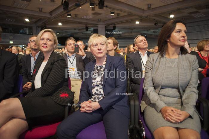 Stella Creasey Angela Eagle Caroline Flint at Labour Party deputy leadership election Westminster London - Philip Wolmuth - 2015-09-12