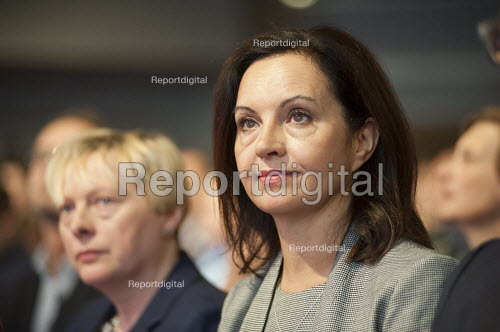 Caroline Flint at Labour Party deputy leadership election Westminster London - Philip Wolmuth - 2015-09-12