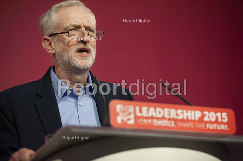 Jeremy Corbyn wins Labour Party leadership election Westminster London - Philip Wolmuth - 2015-09-12