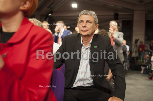 Dave Prentis Unison as Jeremy Corbyn wins Labour Party leadership election Westminster London - Philip Wolmuth - 2015-09-12