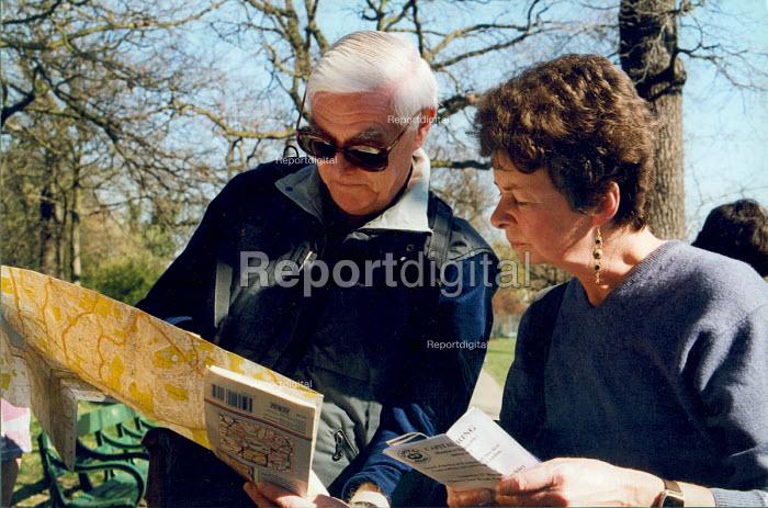 Ramblers Association on a walk North London Haringey woods walk. - Joanne O'Brien - 20021024