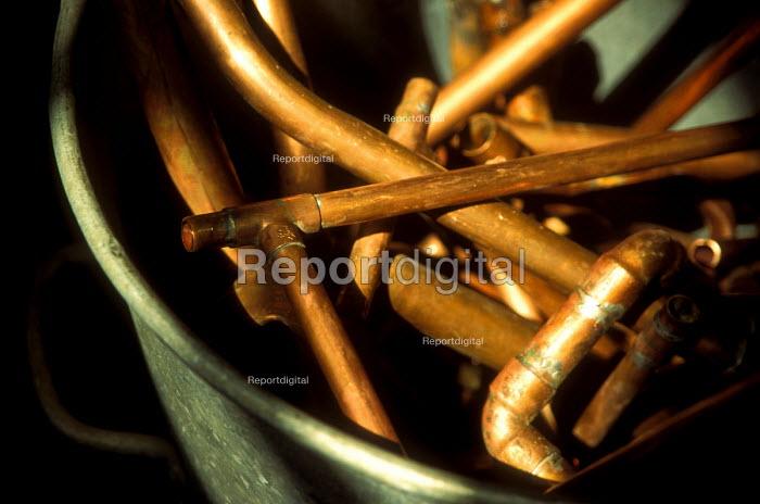 Copper pipes - Joanne O'Brien - 20021024