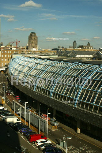 Eurostar terminal at Waterloo station, London - Joanne O'Brien - 20021024