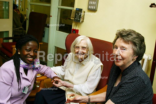 Party at residential home, London - Joanne O'Brien - 20021024