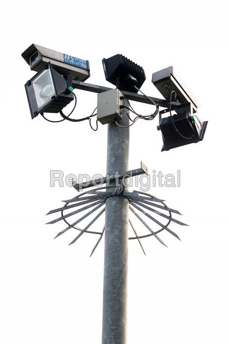 CCTV cameras. - Joanne O'Brien - 20021024