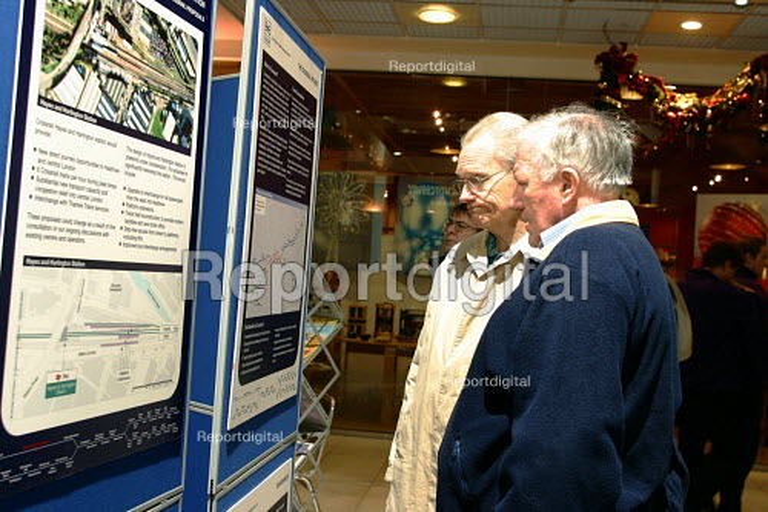 Crossrail public consultation, Ealing, London - Joanne O'Brien - 20021024