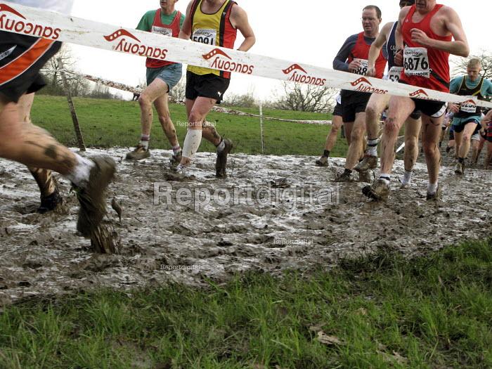 Cross Country running, Hampstead Heath, London - Joanne O'Brien - 2008-01-26