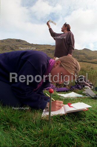 Field trip: Environmental sciences in the Lake District. - Roy Peters - 1996-09-04