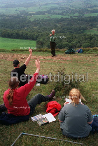 Open air classroom: teaching undergraduates on a filed trip to the Lake District. - Roy Peters - 1996-09-04
