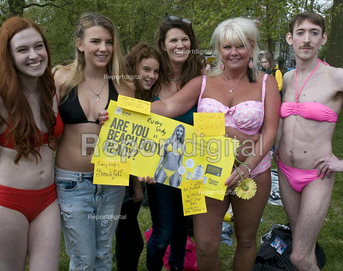 Report Digital Beach Body Ready Protest Women Of All Ages And