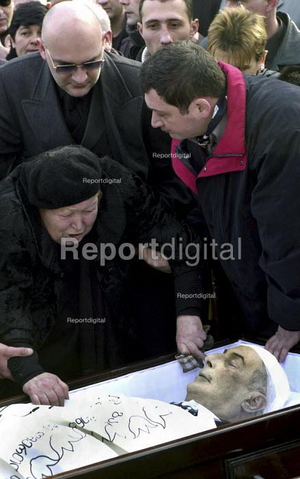 Jaba Ioseliani Report digital The funeral of Jaba Ioseliani aged 77 in Tbilisi
