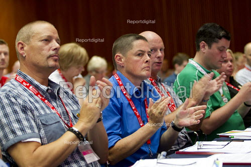 RMT delegates, TUC LGBT Conference, Congress House, London. - Jess Hurd - 2016-06-23