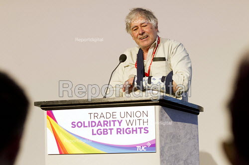 Guy Thornton, NUJ delegate speaking TUC LGBT Conference, Congress House, London. - Jess Hurd - 2016-06-23